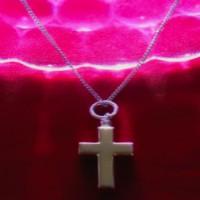 Keepsake - Silver Cross