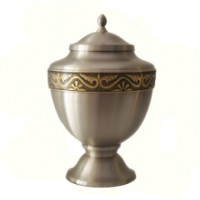 Urn - Large Roman Pewter
